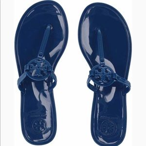 NWOT TORY BURCH MINI MILLER FLAT THONG SANDALS